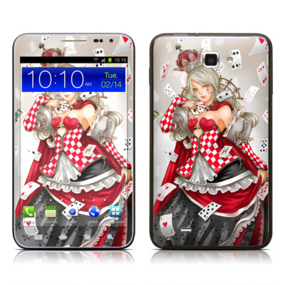 Samsung Galaxy Note LTE Skin - Queen Of Cards