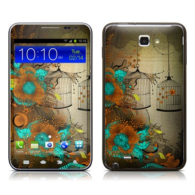 Samsung Galaxy Note LTE Skin - Rusty Lace