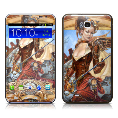 Samsung Galaxy Note LTE Skin - Steam Jenny