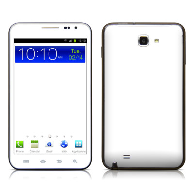 Samsung Galaxy Note LTE Skin - Solid State White