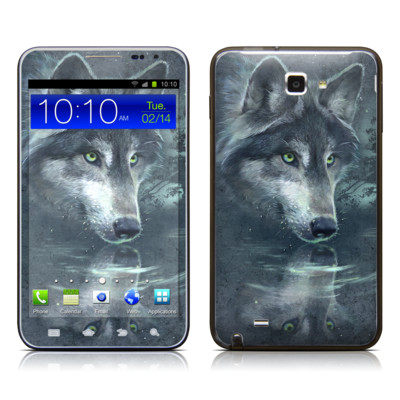 Samsung Galaxy Note LTE Skin - Wolf Reflection