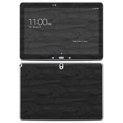Samsung Galaxy Note Pro 12.2in Skin - Black Woodgrain