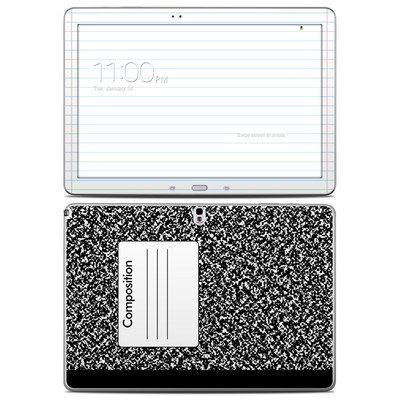Samsung Galaxy Note Pro 12.2in Skin - Composition Notebook