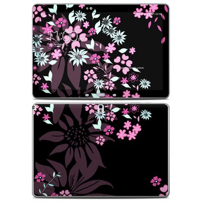 Samsung Galaxy Note Pro 12.2in Skin - Dark Flowers