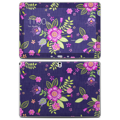 Samsung Galaxy Note Pro 12.2in Skin - Folk Floral