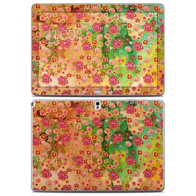Samsung Galaxy Note Pro 12.2in Skin - Garden Flowers