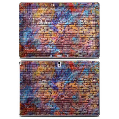 Samsung Galaxy Note Pro 12.2in Skin - Painted Brick