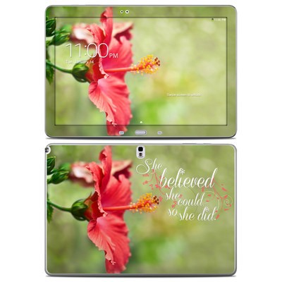 Samsung Galaxy Note Pro 12.2in Skin - She Believed