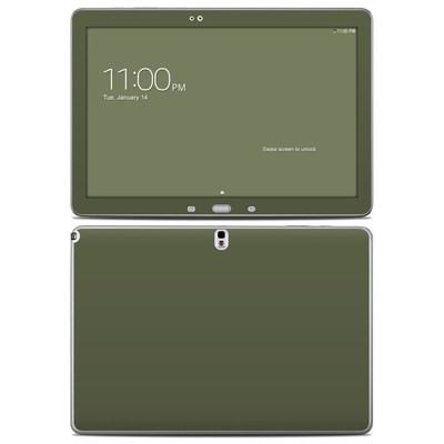 Samsung Galaxy Note Pro 12.2in Skin - Solid State Olive Drab