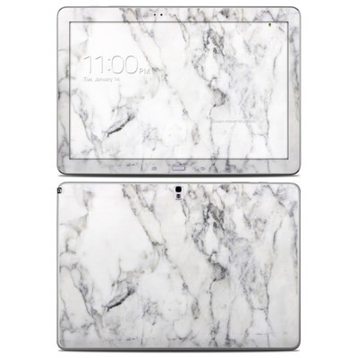 Samsung Galaxy Note Pro 12.2in Skin - White Marble