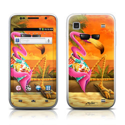Samsung Galaxy Player 4.0 Skin - Sunset Flamingo