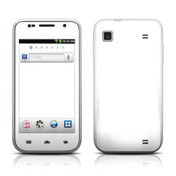 Samsung Galaxy Player 4.0 Skin - Solid State White