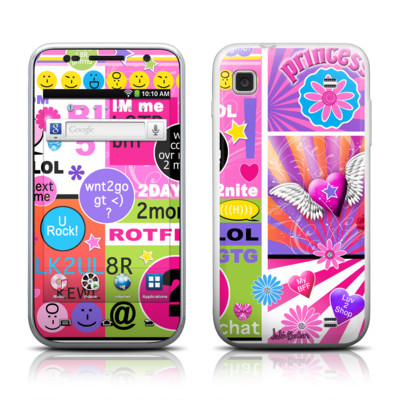 Samsung Galaxy Player 4.0 Skin - BFF Girl Talk