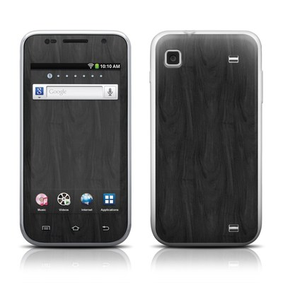 Samsung Galaxy Player 4.0 Skin - Black Woodgrain