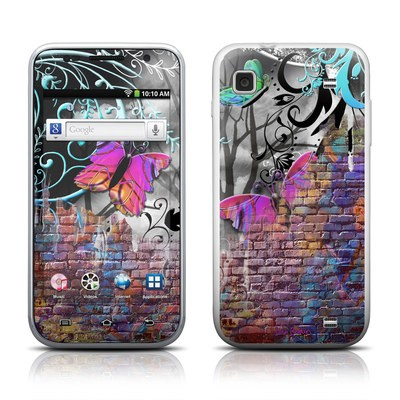 Samsung Galaxy Player 4.0 Skin - Butterfly Wall
