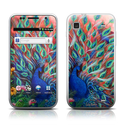 Samsung Galaxy Player 4.0 Skin - Coral Peacock