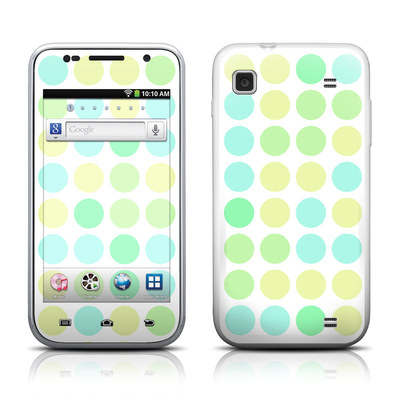 Samsung Galaxy Player 4.0 Skin - Big Dots Mint