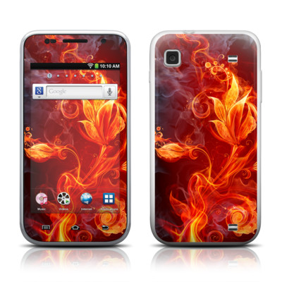 Samsung Galaxy Player 4.0 Skin - Flower Of Fire