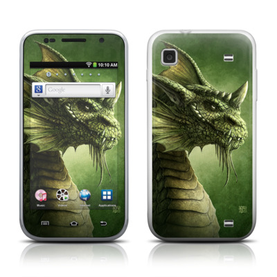 Samsung Galaxy Player 4.0 Skin - Green Dragon