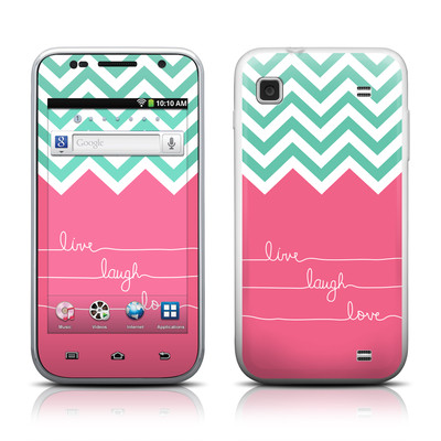 Samsung Galaxy Player 4.0 Skin - Live Laugh Love