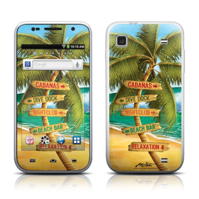 Samsung Galaxy Player 4.0 Skin - Palm Signs