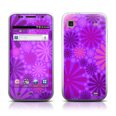 Samsung Galaxy Player 4.0 Skin - Purple Punch