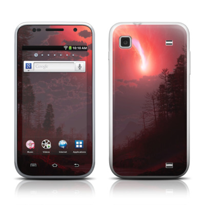 Samsung Galaxy Player 4.0 Skin - Red Harbinger