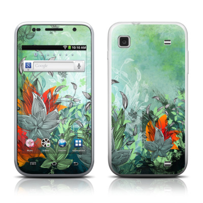 Samsung Galaxy Player 4.0 Skin - Sea Flora