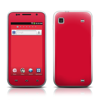 Samsung Galaxy Player 4.0 Skin - Solid State Red