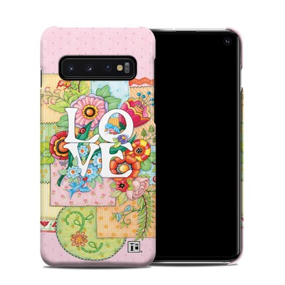 Samsung Galaxy S10 Clip Case - Love And Stitches