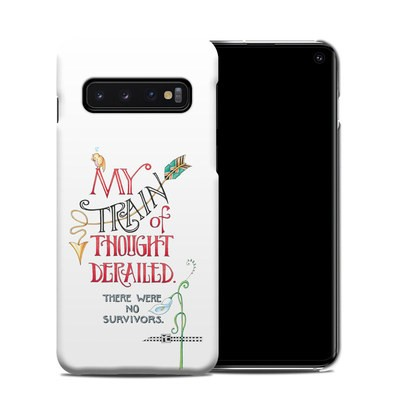 Samsung Galaxy S10 Clip Case - Train Derailed