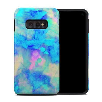 Samsung Galaxy S10e Hybrid Case - Electrify Ice Blue