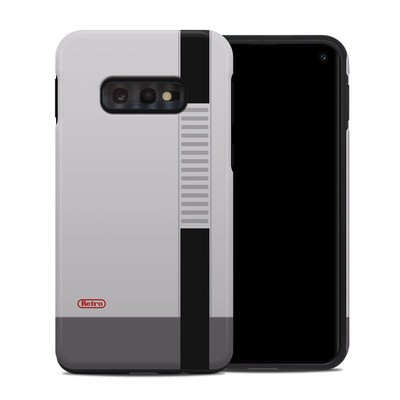 Samsung Galaxy S10e Hybrid Case - Retro Horizontal