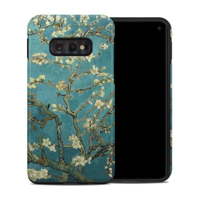Samsung Galaxy S10e Hybrid Case - Blossoming Almond Tree