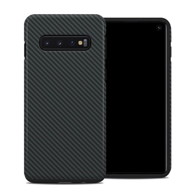 Samsung Galaxy S10 Hybrid Case - Carbon