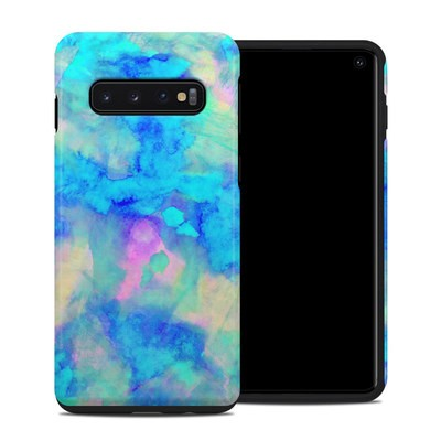 Samsung Galaxy S10 Hybrid Case - Electrify Ice Blue
