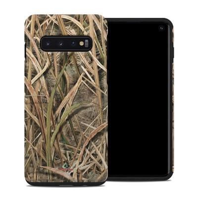 Samsung Galaxy S10 Hybrid Case - Shadow Grass Blades