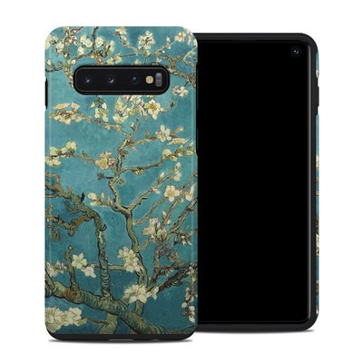 Samsung Galaxy S10 Hybrid Case - Blossoming Almond Tree