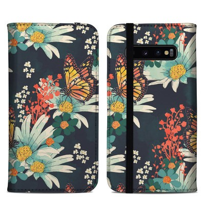 Samsung Galaxy S10 Plus Folio Case - Monarch Grove