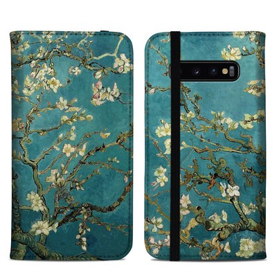 Samsung Galaxy S10 Plus Folio Case - Blossoming Almond Tree