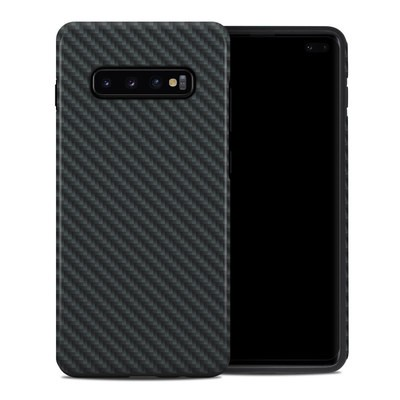 Samsung Galaxy S10 Plus Hybrid Case - Carbon
