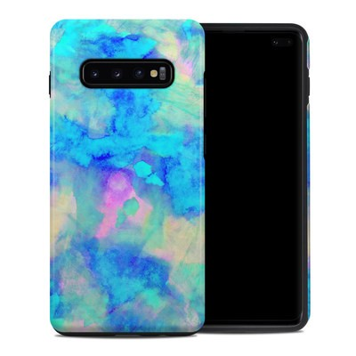 Samsung Galaxy S10 Plus Hybrid Case - Electrify Ice Blue
