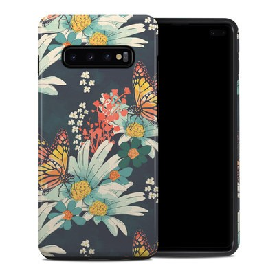 Samsung Galaxy S10 Plus Hybrid Case - Monarch Grove