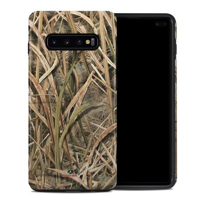 Samsung Galaxy S10 Plus Hybrid Case - Shadow Grass Blades