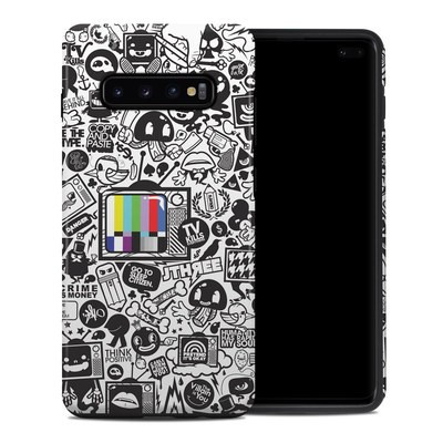Samsung Galaxy S10 Plus Hybrid Case - TV Kills Everything