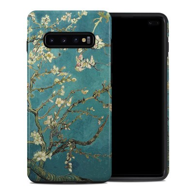 Samsung Galaxy S10 Plus Hybrid Case - Blossoming Almond Tree