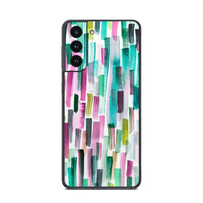 Samsung Galaxy S21 Skin - Colorful Brushstrokes