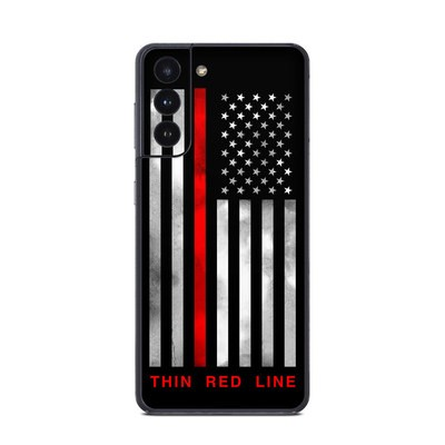 Samsung Galaxy S21 Skin - Thin Red Line