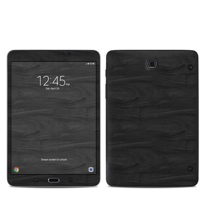Samsung Galaxy Tab S2 8in Skin - Black Woodgrain