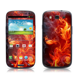 Samsung Galaxy S III Skin - Flower Of Fire